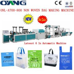 automatic non woven bag making machine price