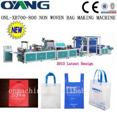 non woven shopping bag making machine price