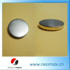 Self adhensive sintered magnet