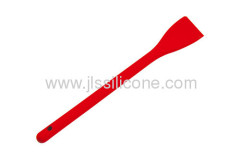 Hygienic and food contact silicone scraper or sptula