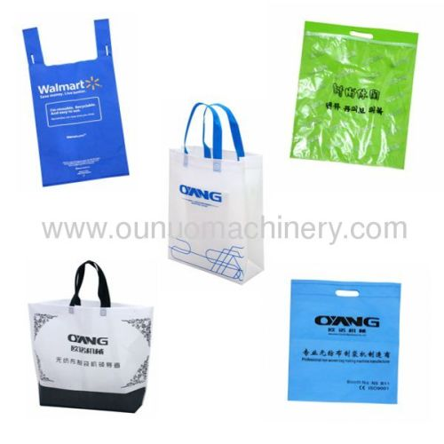 2013 Latest non woven fabric bag making machine