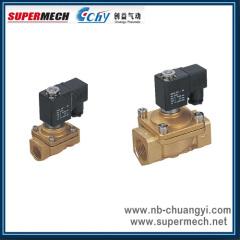 PU220-02 Series pneumatic brass solenoid valve