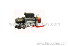 Truck Electric Winch With 10000lb Pulling Capacity