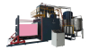 Automatic vaccum foaming machine