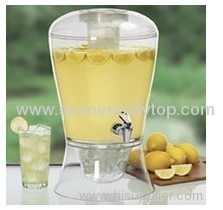 2 gallon beverage dispenser with cooling cylinder
