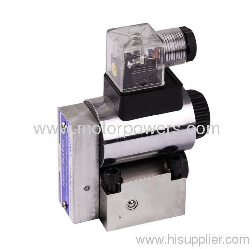 solenoid actuated poppet directional valves