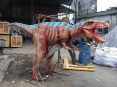 BBC walking with dinosaur costume(hide legs)