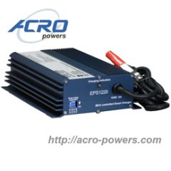 Lead-Acid Battery Charger, 240W, Single Output, Built-in MCU