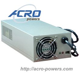 Lead-Acid Battery Charger, 500W, Single Output, Built-in MCU