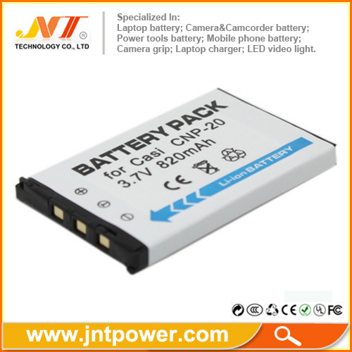 For Casio NP20 CBP-20 camera battery