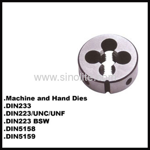 DIN223 Machine hand round thread die