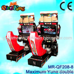 car racing game machine 32 LCD Maximum Tune MR-QF208-8 Double players