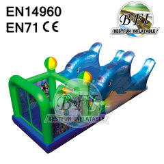 Inflatable Slide Castle Combo