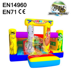 Inflatable Zoo Park Castle