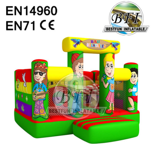Bazi Inflatable Kids Inflatable Bouncy Castle