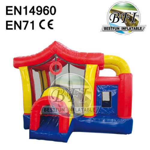 Rainbow House Inflatable Jumping Bouncer / Castle