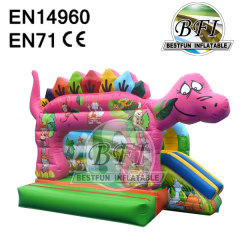 Inflatable Dinosaur Bouncy Castle