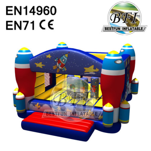 Inflatable Space Jump Castle