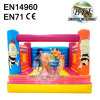 Bees Inflatable Bouncer Jumper For Kids Indoor / Outdoor Using