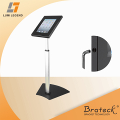 New design anti-theft floor stand pad bracket