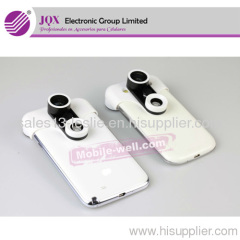 Camera Lens for Samsung Galaxy S4 I9500 4in1 Photo Lens Clip Fisheye