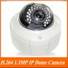 H.264 1.3MP 1/2.5'' CMOS 30Leds IR Vision 15-20m IR IP network Camera.