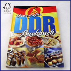8.5*11.5'' hardcover cooking book