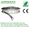 Double Row 144LEDs/meter 5050 RGBW LED strip