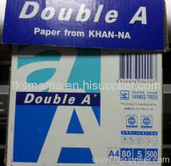 DOUBLE A ;COPY PAPER MANUFACTURE;COPY PAPER SUPPLIER