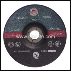 Grinding Wheel for non-ferrous metal aluminium copper pit ir