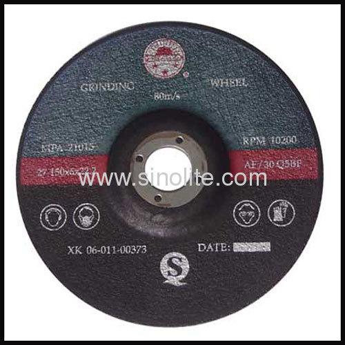 Grinding Wheel for non-ferrous metal aluminium copper pit ir