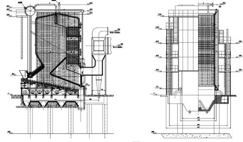 QXW series reciprocating grate hot water boiler