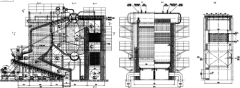 SHW series field assemble reciprocating grate steam biomass boiler