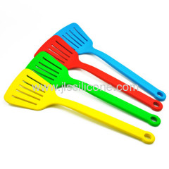 Candy color bakeware silicone slotted shovel and spatual