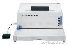 desktop single loop wire binding machine