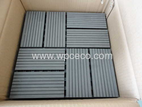 Installation Is Simple With Low Cost Wpc Diy Tile