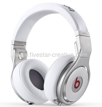 2013 Beats Pro Over-the-ear Headphones White