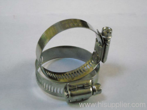 6 stainless steel hose clamps