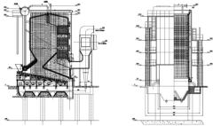 QXW series reciprocating grate hot water Bbomass boiler