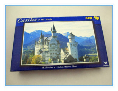 colorful 500 pieces paper puzzle