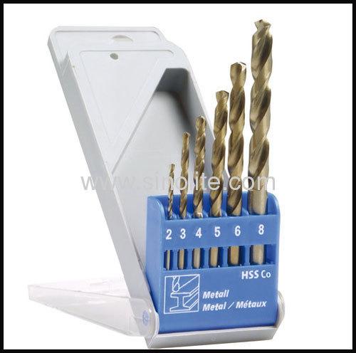 HSS Twist Drill 6pcs-- (2-3-4-5-6-8mm)