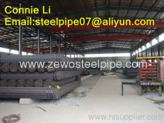 cold drawn Carbon Seamless steel pipe with bare surface and packing