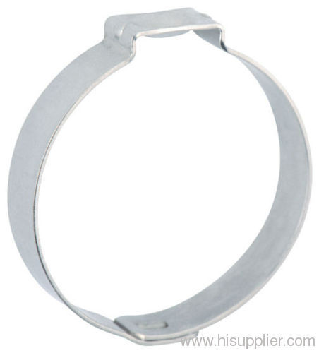 Stainless steel double Ear Hose Clamp