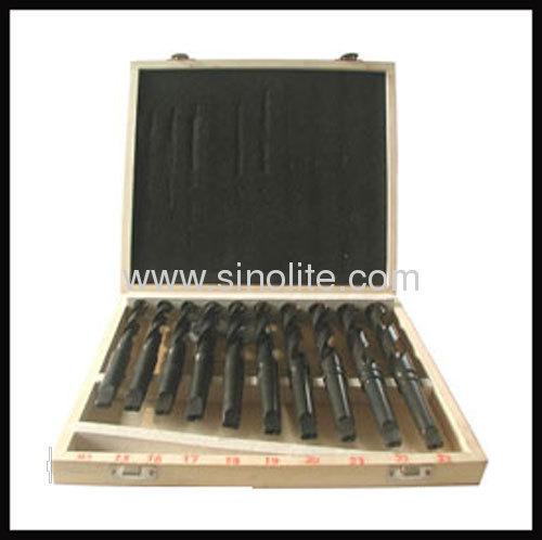 HSS Taper Shank Drill Bits Set 10PCS (14-23 x 1mm )