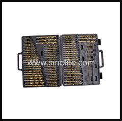 HSS Twist Drill 115pcs C (A-Z; #1-#60; 1/16