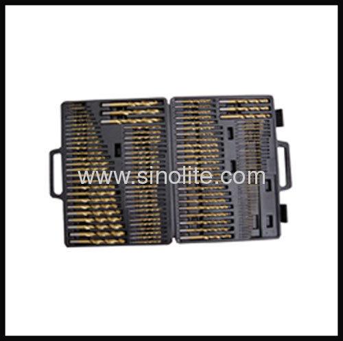 """HSS Twist Drill 115pcs C (A-Z; #1-#60; 1/16""""-1/2"""")"""