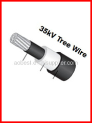 35KV tree wire aluminum conductor XLPE insulated