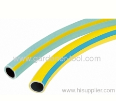PVC Garden Water Hose With Strip For Garden Irrigation