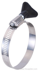 hose clamp with thumb screw