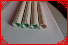hot sale FR-PPR Fiberglass Composite pipe SDR6/S2.5/PN25 20-63mm